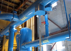 TSU Cogen Expansion | For this project we installed a new 2,000 ton chiller with associated pumps and piping.