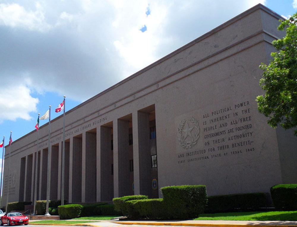 Lorenzo deZavala State Archives