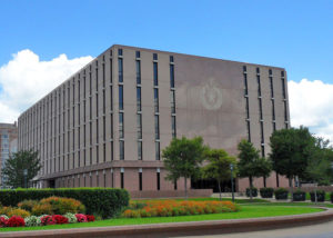 Reagan State Office Building | This project consisted of a complete HVAC and Plumbing renovation including the replacement of the basement mechanical room equipment, ducting and piping with the addition of large humidifiers to serve the building.